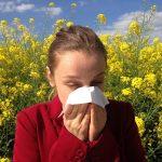 Hay fever sufferer