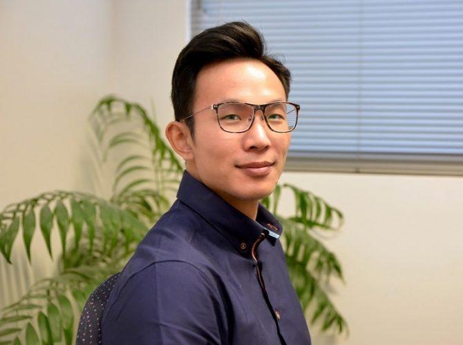 Physiotherapist Dominic Tan